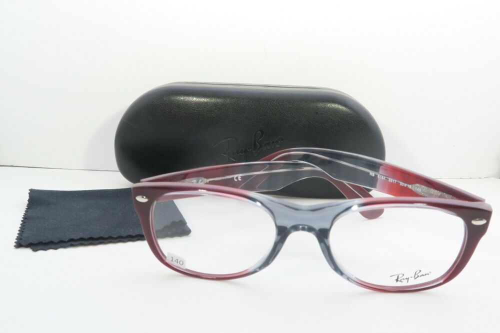 5a61567f02b Ray-Ban Burgundy Glasses New with case RB 5184 5517 50mm 740224346835