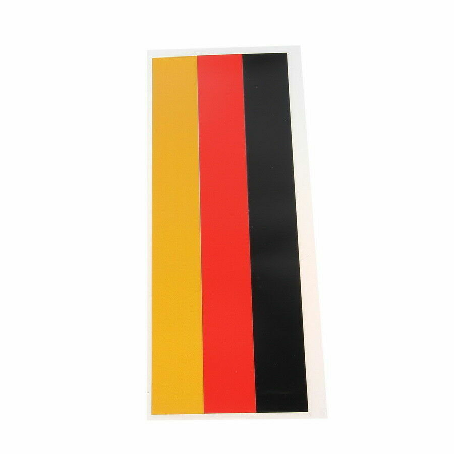 Details about car body grille vinyl stripe decal german flag sticker decor trim universal auto