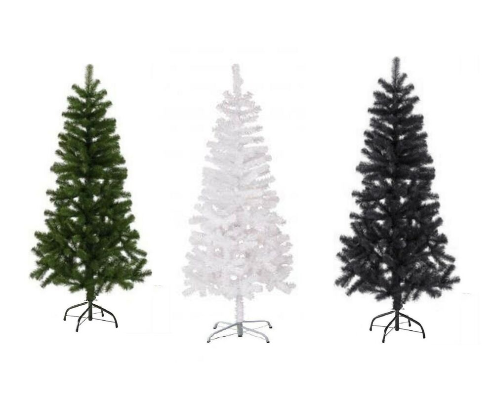 Artificial Christmas Tree Green,White & Black 2,3,4,5 6