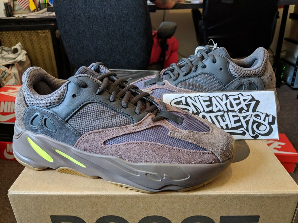 7d45cfc741bd9 Details about Adidas Yeezy Boost 700 Mauve Wave Runner Grey Green Kanye  West EE9614