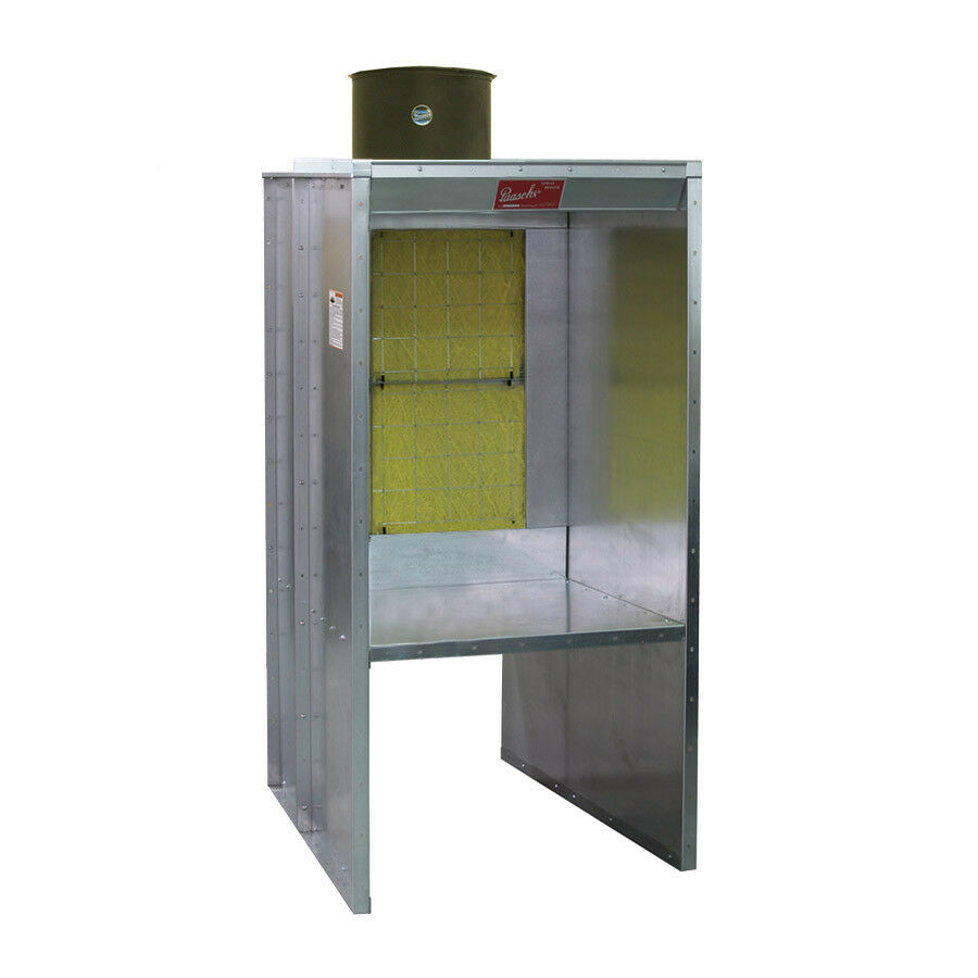 3 Shelf Type Spray Paint Booth Made By Paasche In The