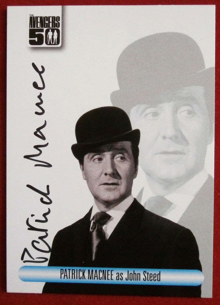 0d10581b1a5 Details about THE AVENGERS 50th - Patrick MacNee - Autograph Card -  Unstoppable 2012 AV1