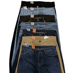 Kyпить Levis 501 Original Fit Men's Jeans Levi's Straight Leg 29 30 31 32 33 34 36 38 + на еВаy.соm