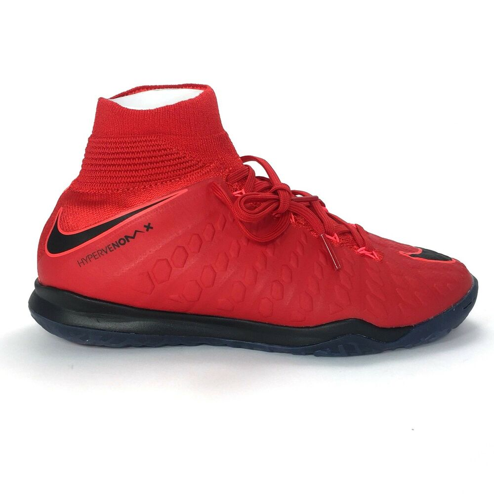 lowest price fd07b cf2a7 Details about Nike Youth JR Hypervenomx Proximo 2 DF IC Futsal Shoes