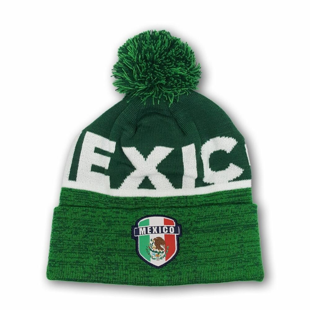 Details about Mexico Beanie Soccer Skull Cap hat FMF National Team Jersey  Soccer Winter 001 4dff48cdc