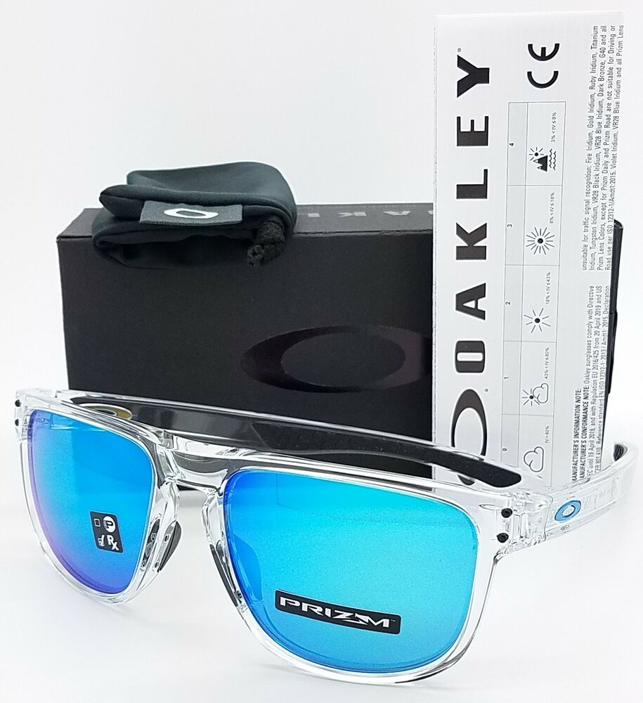 363b6a6ca7 Details about NEW Oakley Holbrook R sunglasses Clear Prizm Sapphire  9377-0455 blue AUTHENTIC