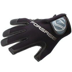 Angler Neoprene A-015 / 2 Cut Finger Fishing Hunting Gloves Cold Weather