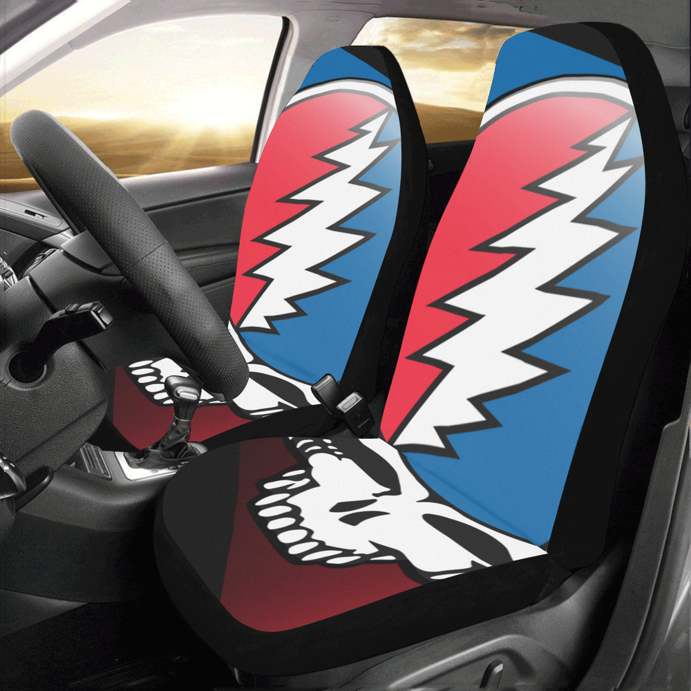 Universal Fit Grateful Dead Compatible Car Seat Protector Cover Set