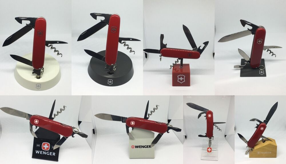 Swiss Army Knife Victorinox Wenger Stand Display For