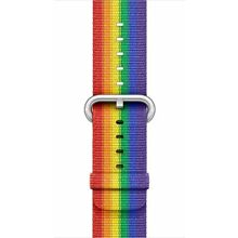 Apple Watch Woven Nylon Band 38mm Pride Edition