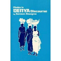 Modes In Denya Discourse (sil International And The University Of Texas At Ar...
