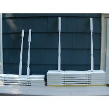 WOOD PORCH DECK RAILING SPINDLE BALUSTER WHITE 53 BALUSTER SPINDLE WHITE