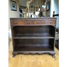 Queen Anne Antique book shelve with drawers unit