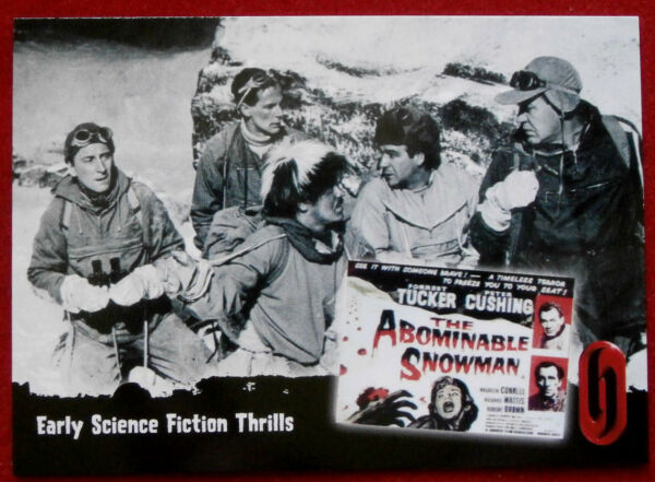 HAMMER HORROR - Series One - Card #09 - Early Sci-Fi Thrills, ABOMINABLE SNOWMAN