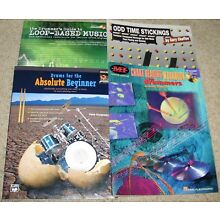 Drumming Instruction Books w/cds~ Old Time Stickings, Drummer's Loop-Based Music
