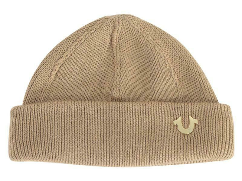 084d70dd80a Details about True Religion Indigo Dyed Cotton Watch Cap Hat (One Size Fits  Most)