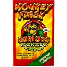 Monkey Flask 3 Oz Novelty Complete Kit All you need for your test 100% Guarnty