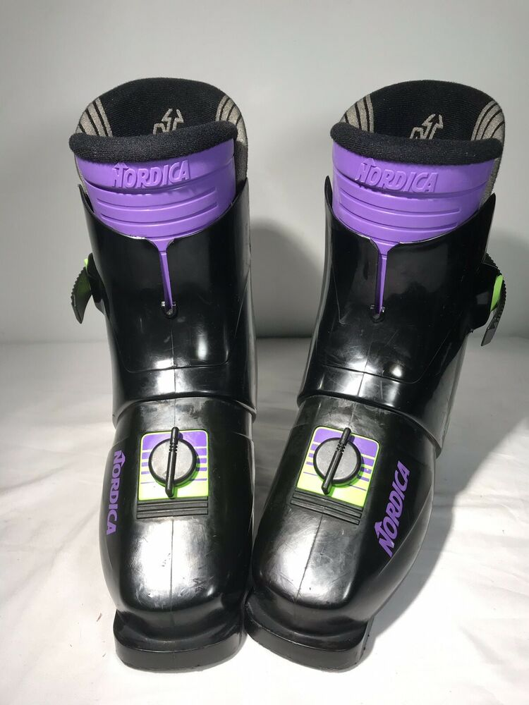 Nordica Rear Entry Line 357 Ski Boots Womens 270Mm Us -5347