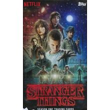 2018 Stranger Things base set 1-100 + character stickers 1-20 120 total cards