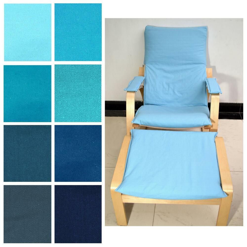 f1659a4a58e Details about NEW (EASY FIT Slip cover)NO ZIPPER-Tailor Made For IKEA Poang  Arm Chair Aa1