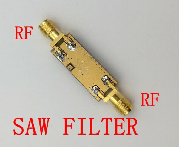 1575MHz GPS SAW Bandpass Filter BPF 1.575GHz Band Pass Satellite Positioning SMA