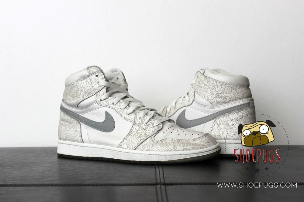 huge selection of 5c546 8714d Details about 2015 Air Jordan Retro 1 High 30th Anniversary Laser 11 w  Box    TRUSTED SELLER
