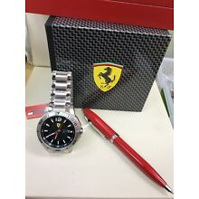 Ferrari Watch And Pen  Sheaffer Ferrari SET