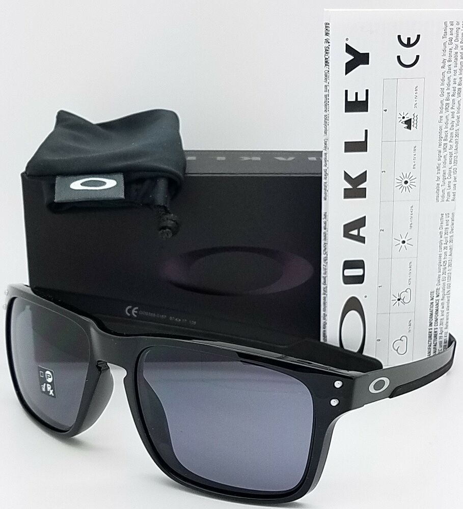 2ee3949091 Details about NEW Oakley Holbrook Mix sunglasses Polished Black Grey  9385-01 AUTHENTIC oo9385