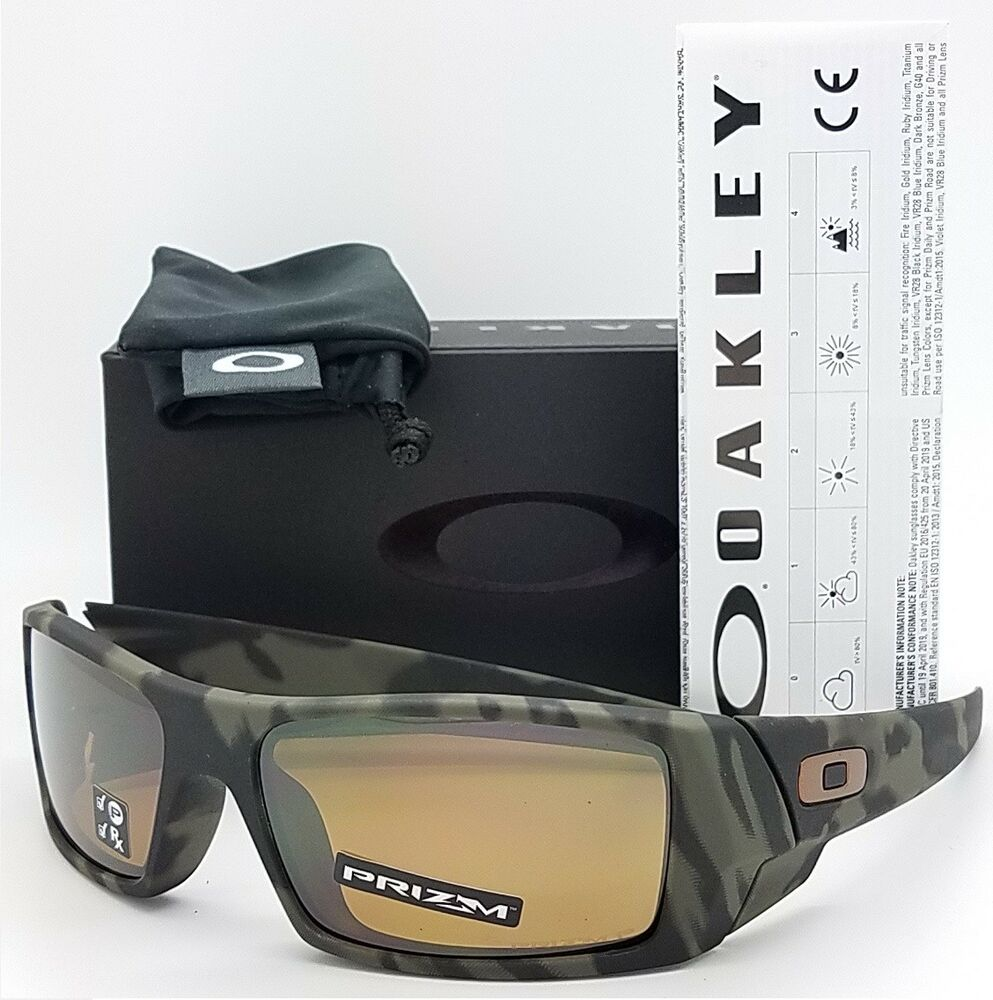 62011e9fc6963 Details about NEW Oakley Gascan sunglasses Olive Camo Prizm Tungsten  Polarized 9014-51 GENUINE