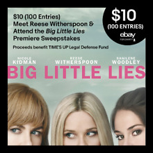 $10 (100 Entries) Meet Reese Witherspoon & Attend Big Little Lies Premiere