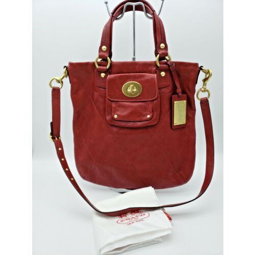 coach-limited-edition-rare-kira-red-quilted-leather-shoulder-bag-crossbody