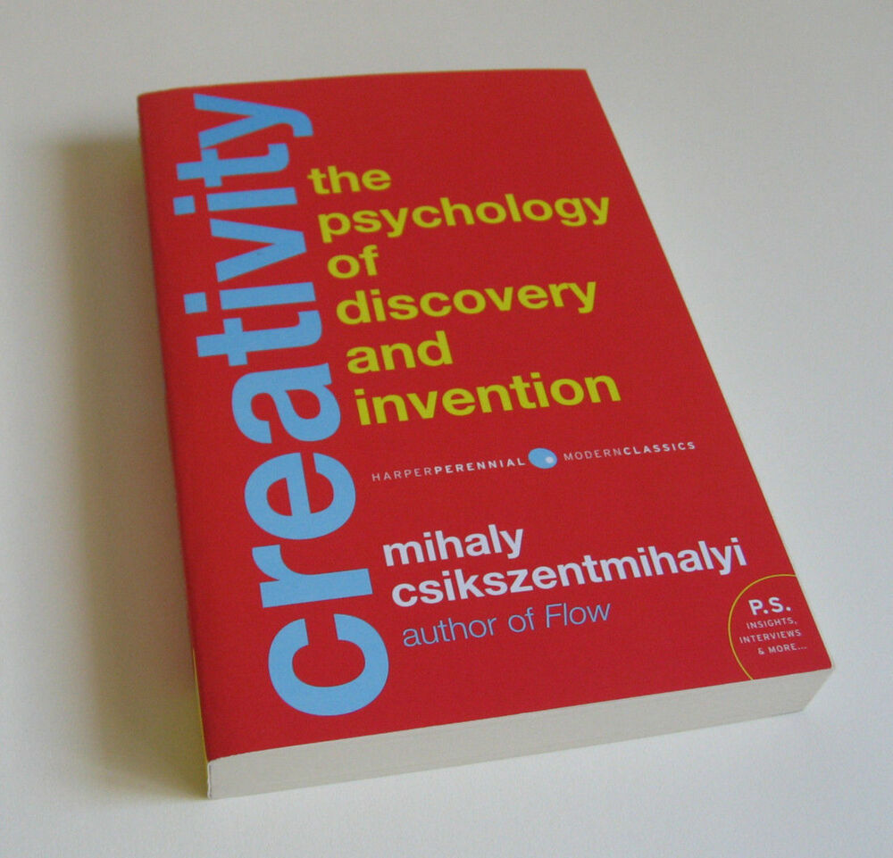 Creativity : The Psychology of Discovery and Invention - Mihaly  Csikszentmihalyi 9780062283252 | eBay