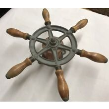 Antique Wilcox Critttenden Ship's Wheel