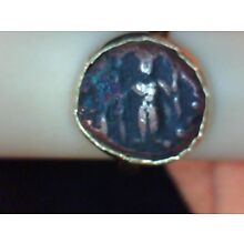 LOVELY ANCIENT ATHENA LADY'S GOLD RING
