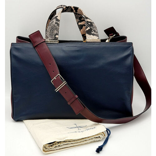 pour-la-victoire-gently-loved-inez-colorblock-leather-carryall-bag-multi