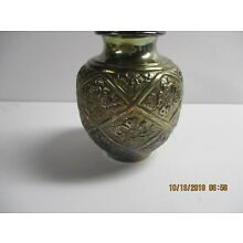 beautiful bolbous sterling silver 925 vase