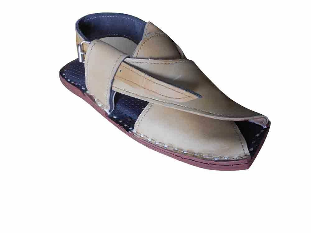 d22941216ee6 Details about Men Sandals Cream Traditional Indian Shoes Handmade Leather  Mojari Flat US 8-11