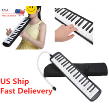 USA 37-Key Melodion Melodica Musical Instrument W Mouthpiece & Hose & Bag Kit
