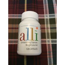 Alli Weight Loss Aid 60 mg 120 count Exp 10/20 100% Authentic!