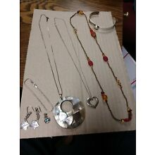 Mixed Lot of Sterling Silver Jewelry.  Not SCRAP! MEXICO, PEYOTE BIRD, DVB