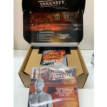 INSANITY 60 DAY TOTAL BODY CONDITIONING WORK OUT 10  DVD PROGRAM-COMPLETE KIT!