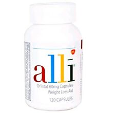 Alli Orlistat 60mg 120 Capsules FACTORY SEALED Exp. 2020