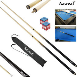 SET OF POOL CUES New Two-Piece Billiard House Pool Cue Stick