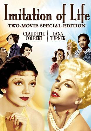 IMITATION OF LIFE TWO MOVIE (DVD, 1934 + 1959 Versions)