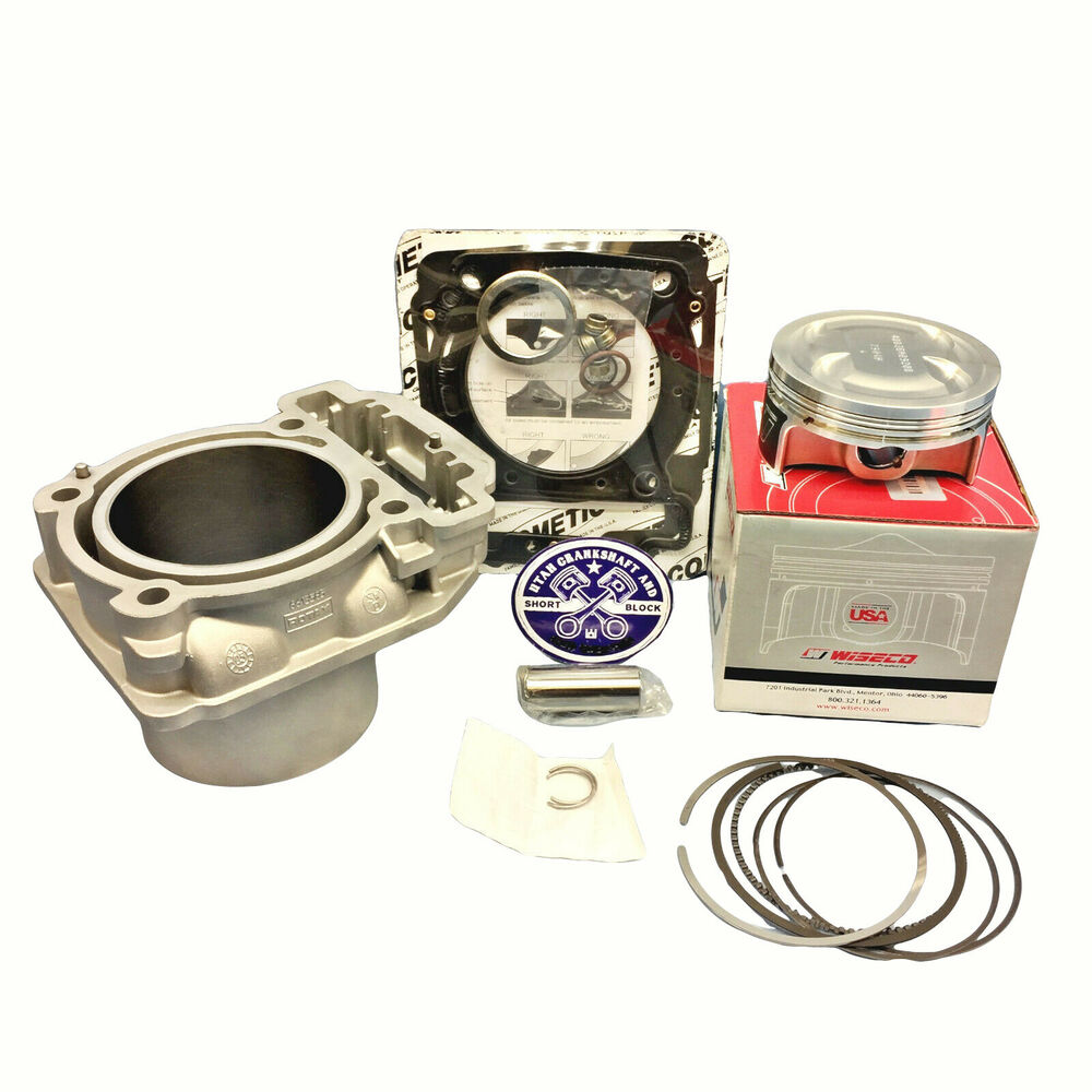 Details about 92mm Can Am 400 Cylinder Wiseco Piston Gaskets 2003-2010  Outlander Max 400 XT