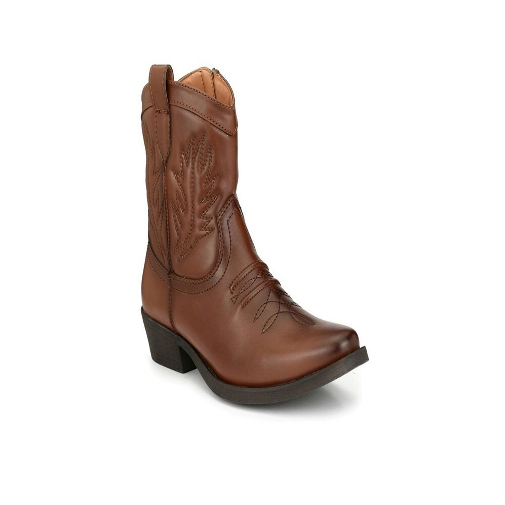 0f7453b53f4 Details about DELIZE BRAND SYNTHETIC LEATHER TPR MEN BOOTS