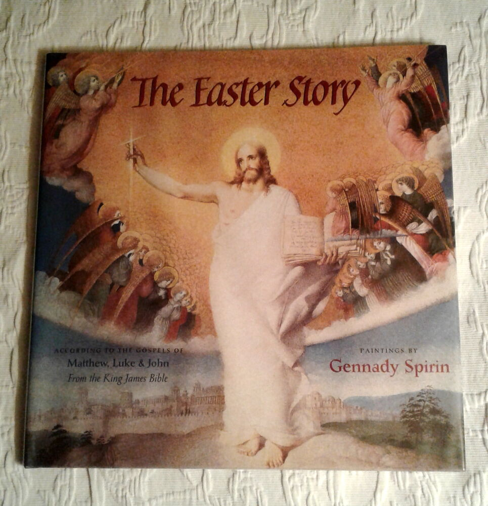 The Easter Story, Signed 1st Edition, F/F, King James Bible, Gennady Spirin  | eBay