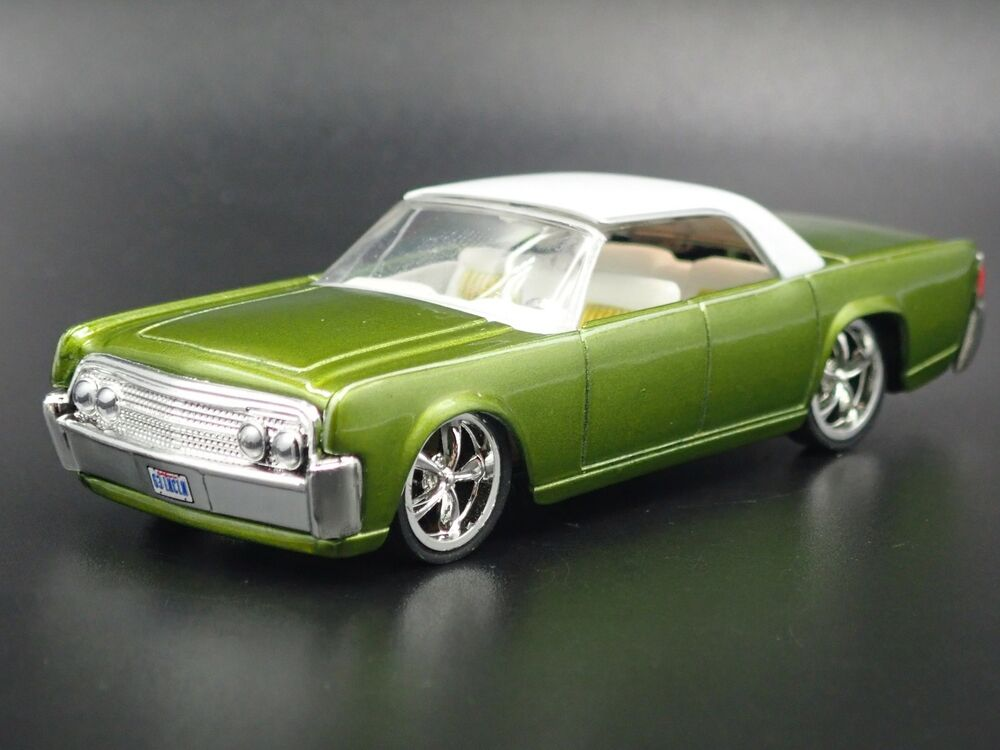 Details About 1963 Lincoln Continental Custom 1 Rare 64 Scale Diorama Cast Model Car