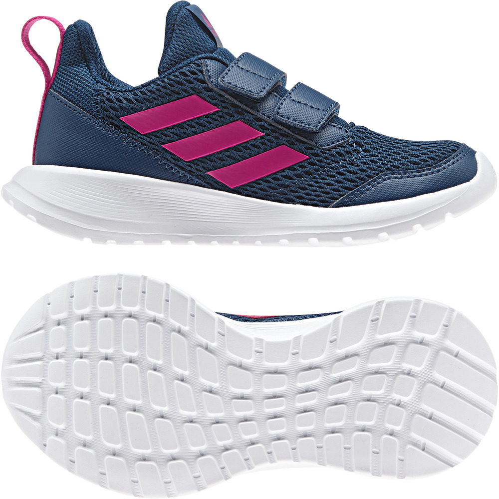 5896fe6344d Details about Adidas Kids Shoes Running AltaRun CF K School CG6894 Fashion  Hook Trainers