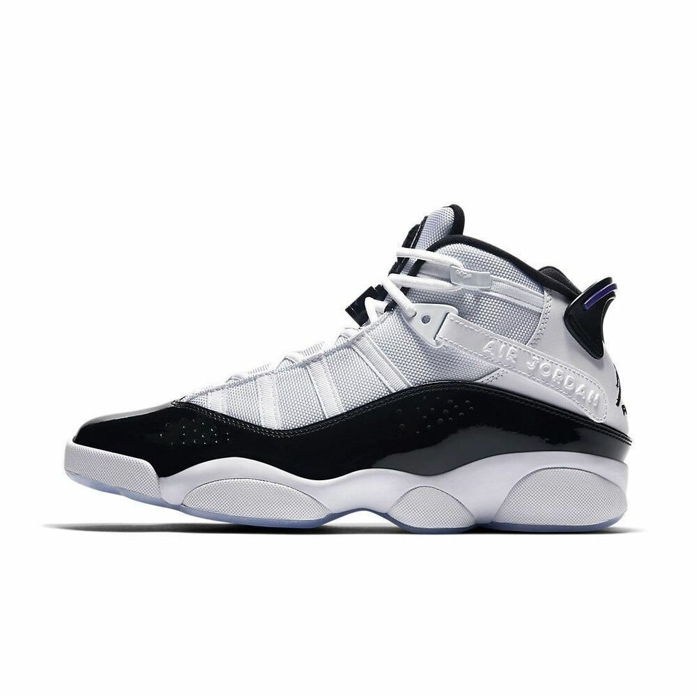 ec5be9028c41e7 Details about Air Jordan 6 Rings size 15. White Black Dark Concord  322992-104. xi 11 XIII 13